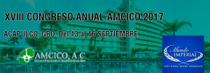 XVIII Congreso Anual AMCICO 2017, Asociación mexicana de cirujanos de columna.